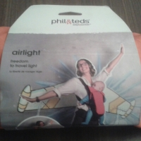 Product Review: Phil & Teds Airlight Baby Carrier
