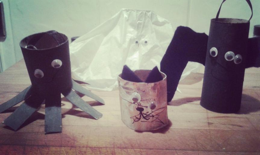 Crafty crafts: HalloweenDecorations