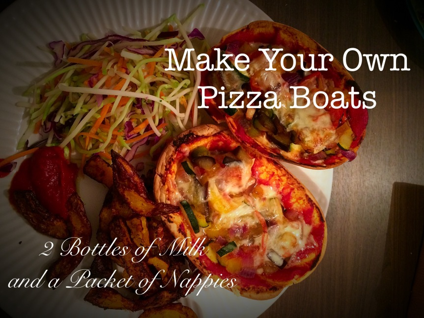 Make Your Own Pizza Boats