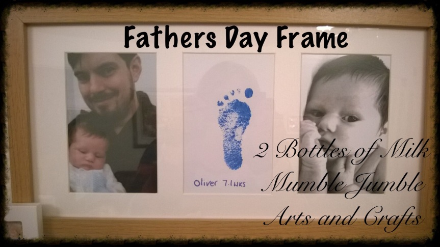 Fathers Day Frame!
