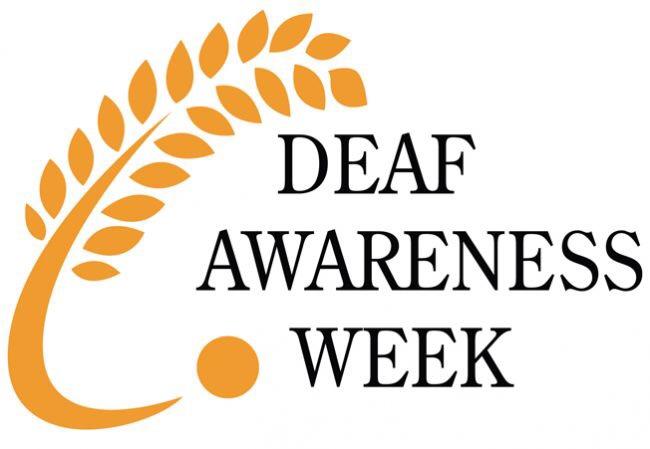 Deaf Awareness Week 2016 2nd – 8thMay