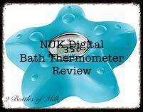 NUK Digital Bath Thermometer Product Reviews