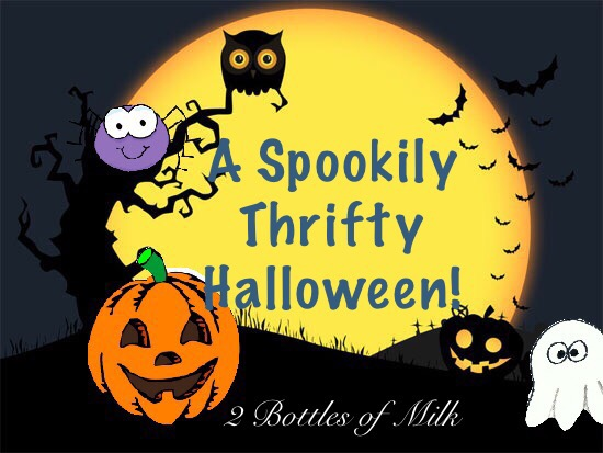 A Spookily Thrifty Halloween!