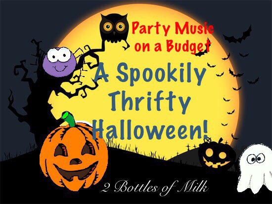 Halloween Party Music on a Budget.