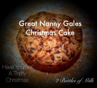 Great Nanny Gales Christmas Cake Part One.