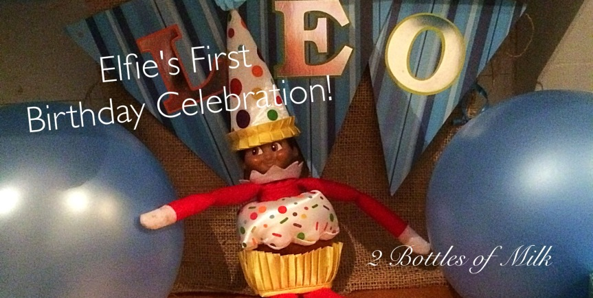 Elfie's First Birthday Celebration!