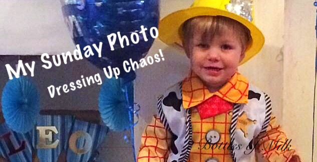 My Sunday Photo 17:06 Dressing Up Chaos!