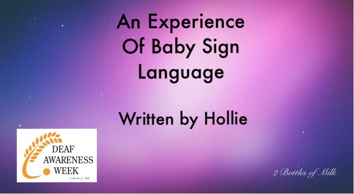 An Experience of Baby Sign Language