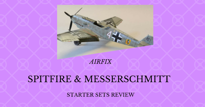 Airfix Spitfire and Messerschmitt Bf109E-3: Review