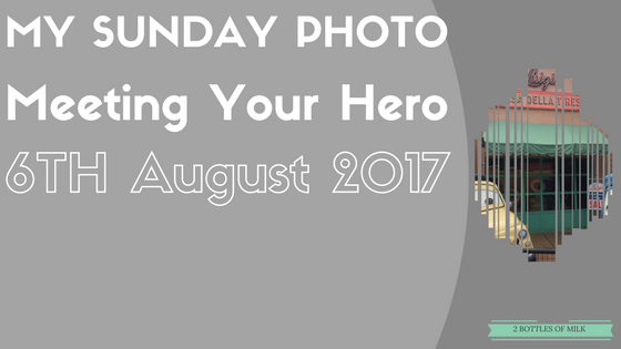 My Sunday Photo 17:20. Meeting Your Hero