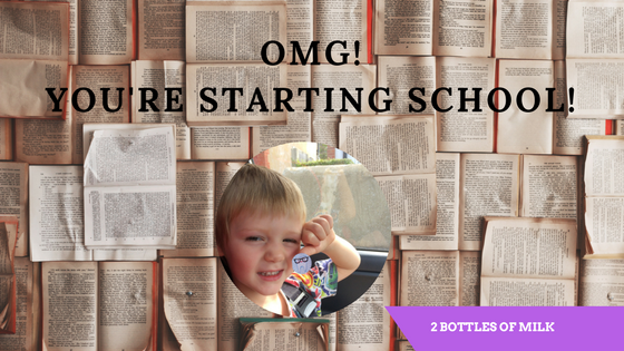 OMG You're Starting School!