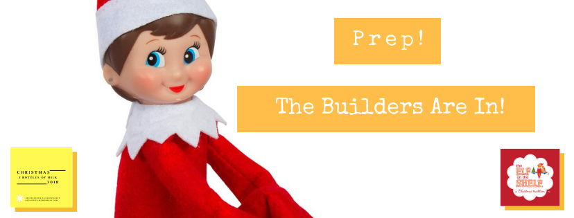 Prep – The Builders Are In!